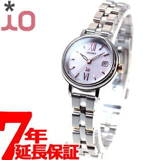 明日20時からはneelがお得♪最大1100円OFFクーポン&店内ポイント最大43倍! オリエント イオ ORIENT iO ソーラー 腕時計 レディース ナチュラル&プレイン WI0061WG