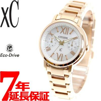 【今がお得!最大ポイント37倍!さらに最大1万円OFFクーポン配布!】シチズン クロスシー CITIZEN xC エコドライブ ソーラー 腕時計 レディース エコマルチ FD1092-59A