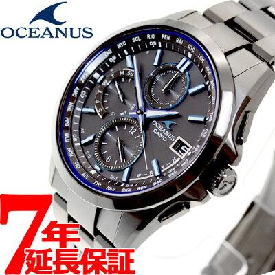 明日0時からはニールがお得♪店内ポイント最大55倍!カシオ オシアナス CASIO OCEANUS 電波 ソーラー 電波時計 腕時計 メンズ クラシックライン アナログ タフソーラー OCW-T2600B-1AJF