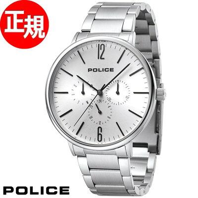 【最大2000円OFFクーポン付!さらに店内ポイント最大43倍!本日20時スタート】ポリス POLICE 腕時計 メンズ スペクトラム SPECTRAM 15301JS/04M