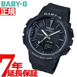 カシオ Baby-G 腕時計(メンズ) BABY-G カシオ ベビーG レディース 腕時計 ブラック 黒 BGS-100 for running STEP TRACKER BGS-100SC-1AJF【2018 新作】