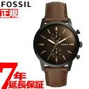フォッシル 腕時計(メンズ) 【5日0時〜♪10%OFFクーポン&店内ポイント最大51倍!5日23時59分まで】フォッシル FOSSIL 腕時計 メンズ タウンズマン 44MM TOWNSMAN クロノグラフ FS5437