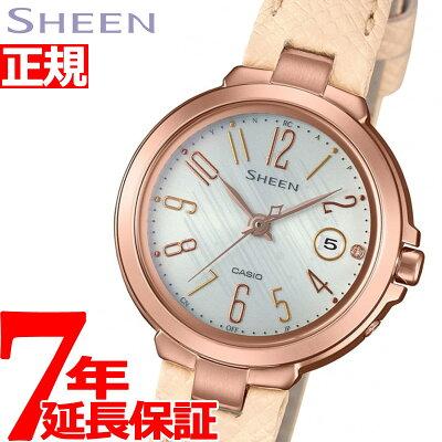 カシオ シーン CASIO SHEEN 電波 ソーラー 電波時計 腕時計 レディース SHW-5100PGL-7AJF【2018 新作】