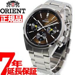オリエント 腕時計(メンズ) 【5%OFFクーポン!2月20日09時59分まで!】オリエント ネオセブンティーズ ORIENT Neo70's パンダ PANDA 腕時計 メンズ WV0041UZ