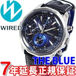ワイアード 腕時計(メンズ) セイコー ワイアード SEIKO WIRED 腕時計 メンズ THE BLUE ザ・ブルー SKY クロノグラフ AGAW422【あす楽対応】【即納可】