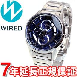 ワイアード 腕時計(メンズ) セイコー ワイアード SEIKO WIRED ソーラー 腕時計 メンズ アポロ APOLLO クロノグラフ AGAD060【あす楽対応】【即納可】