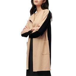 ジェイクルー ジェイクルー レディース ニット&セーター アウター J.Crew Juliette Colorblock Collarless Sweater Blazer (Regular & Plus Size) Black Hthr Khaki