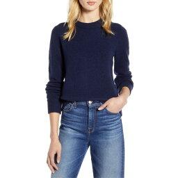 ジェイクルー ジェイクルー レディース ニット&セーター アウター J.Crew Crewneck Sweater in Super Soft Yarn (Regular & Plus Size) (Nordstrom Exclusive) Navy