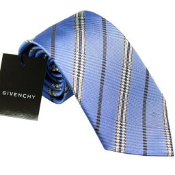 ジバンシイ 【あす楽】ジバンシー GIVENCHY ネクタイ 8.5cm ブルー系 CR8GP 022-5