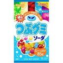 グミ 春日井製菓 つぶグミ ソーダ 85g ×60個セット (お菓子・食品・グミ)