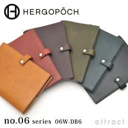 エルゴポック エルゴポック HERGOPOCH Waxed Leather ワキシングレザー 06W-DB6 Diary Cover ダイアリーカバー B6サイズ カラー:全6色 手帳カバー・日記・日本製・ビジネス プレゼント・ギフト 【RCP】【smtb-KD】