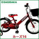 ディズニー 子供用自転車 ディズニー カーズ 16 (レッド) 6108 調整済 Disney Cars 16 キャラクター 幼児用自転車 SAGISAKA サギサカ