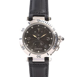 カルティエ パシャ 腕時計(メンズ) 【BrandMax】カルティエ/Cartier/パシャ38/N950/パワー/GMT/生産終了