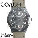 コーチ 腕時計(メンズ) コーチ COACH 時計 メンズ 腕時計 ステンレス レザー ベルト ウォッチ 腕時計 レザーバンド アウトレット W5016 EAX ミリタリーxブラック コーチ COACH メンズ レディース MMM