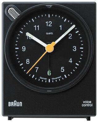 【日本正規代理店品】 BRAUNアラームクロック  BNC004  BRAUN目覚まし時計 ブラウンアラームクロック