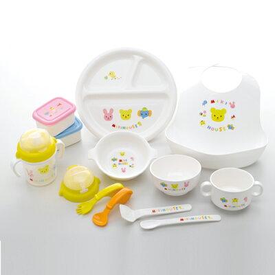 MIKI HOUSE(ミキハウス) 豪華なテーブルウェアセット(ベビー食器セット)