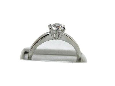 ☆ミキモト プラチナ ダイヤモンド リングダイヤ E VVS2 MIKIMOTO Pt950 ダイヤ 指輪 【新品同様】