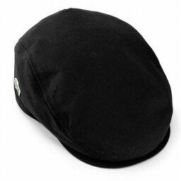 ラコステ ハンチング メンズ 帽子 LACOSTE ラコステ コットン ツイル カラバリ豊富 にも オールシーズン 黒 BLACK ブラック 送料無料 男性用 カジュアル アウトドア (帽子 ぼうし ハンチング帽 ハンチングキャップ 30代 40代 ハンチング帽)