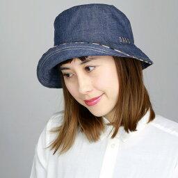 ダックス 帽子 レディース DAKS ダックス ハット 日よけ レディース 帽子 紫外線対策 春夏 コットン100% 先染 チューリップオブザー 婦人帽子 ブランド帽子 ネイビー 紺 [floppy hat](40代 50代 60代 70代 ファッション アウトドア チューリップハット プレゼント UVカット帽子 誕生日 ぼうし)