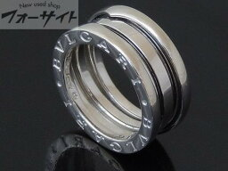 ブルガリブルガリ 指輪(レディース) #7.5(48)BVLGARI ブルガリ■K18WG ビーゼロ リング 指輪◎