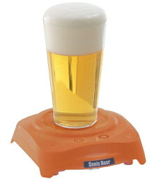 ソニックアワー  【SALE】タカラトミー 本格派ビール泡立機!ソニックアワー カラー:オレンジ/ブルー