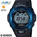 カシオ G-SHOCK 腕時計(メンズ) CASIO G-SHOCK ジーショック 電波ソーラー ブラック スカイブルー デジタル メンズ 腕時計 GW-M500F-2