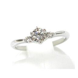 スタージュエリー 指輪 スタージュエリー STAR JEWELRY 指輪 ソリテア ダイヤモンドリング#7 Pt950 0.235ct 0.05ct F-VS1-EX 【送料無料】(24080)