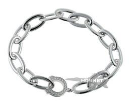 カルティエのブレスレット(レディース) カルティエ Cモチーフ チェーン ダイヤ ブレスレット B6035200 ホワイトゴールド 750WG 1400917