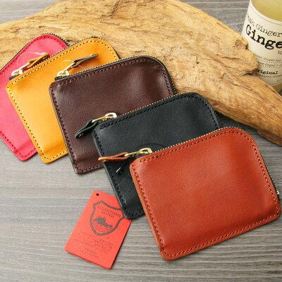 栃木レザー ショートウォレット コインケース財布 黒 日本製 本革 送料無料 japan メンズ 革小物 プレゼントに最適