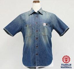フランクリンマーシャル FRANKLIN MARSHALL(フランクリン マーシャル) 39181-3003 CHAPMAN S/S シャツ 半袖シャツ メンズ S・Mサイズ
