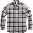 ノースフェイス (取寄)ノースフェイス メンズ アロヨ ロングスリーブ フランネル シャツ The North Face Men's Arroyo Long-Sleeve Flannel Shirt Mid Grey Gully Plaid