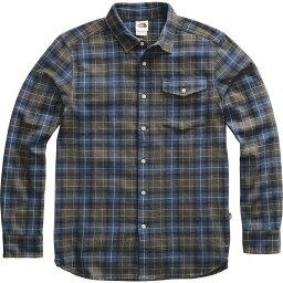 ノースフェイス 【クーポンで最大2000円OFF】(取寄)ノースフェイス メンズ アロヨ ロングスリーブ フランネル シャツ The North Face Men's Arroyo Long-Sleeve Flannel Shirt New Taupe Green Ravine Plaid