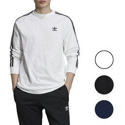 アディダス アディダス tシャツ メンズ 長袖 ホワイト ブラック ブルー オリジナルス カリフォルニア ロング スリーブ Men's adidas Originals California Long Sleeve T-Shirt White black blue