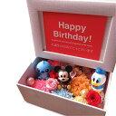ディズニープリザーブドフラワー 誕生日プレゼント ディズニー 写真立て フォトフレーム 花 プレゼント プリザーブドフラワー入り ミッキー ミニー…etc マスコット3個入り