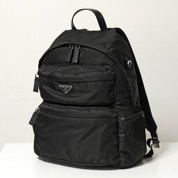 プラダ PRADA プラダ 2VZ025 973 OOT ナイロン バッグ バックパック リュック デイパック 三角ロゴ金具プレート 鞄 F0002/NERO メンズ レディース