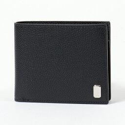 ダンヒル 二つ折り財布(男性向け) 【1,000円OFFクーポン対象!4月1日限定】Dunhill ダンヒル DU19F2320AR001R D BELGRAVE レザー 二つ折り財布 小銭入れあり BLACK メンズ
