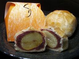 まんじゅう 【手作りの和菓子屋】サクサクのパイ皮で包んだ栗のおまんじゅう パイ饅頭(栗)6個入【marutaya】【RCP】