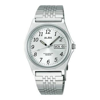 ALBA アルバ 男性用腕時計 AIGT004 ルミブライト付 メンズウオッチ 名入れ刻印対応、有料 取り寄せ品 【コンビニ受取対応商品】