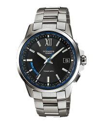 オシアナス 腕時計(メンズ) カシオ CASIO ソーラー 電波時計 メンズ 男性用 腕時計 オシアナス OCEANUS OCW-T150-1AJF 取り寄せ品 【コンビニ受取対応商品】