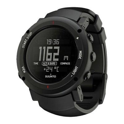 SUUNTO(スント) [正規品・2年保証]CORE ALU DEEP BLACK(コア ディープブラック) SS018734000ブラック メンズ腕時計 腕時計 高機能ウォッチ アウトドアギア