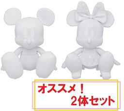 ミッキー&ミニー ディズニー セレブレーションドール よせがきぬいぐるみ2体セット ミッキーマウス&ミニーマウス 高さ22cm【Disneyzone】