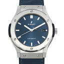 ウブロ 腕時計(メンズ) 【48回払いまで無金利】ウブロ クラシックフュージョン チタニウム ブルー 511.NX.7170.LR メンズ(0H1HHBAN0050)【新品】【腕時計】【送料無料】