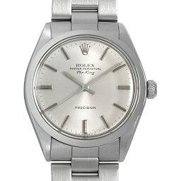 エアキング 腕時計(メンズ) 【48回払いまで無金利】ロレックス オイスターパーペチュアル エアキング 50番 5500 メンズ(0I26ROAA0001)【アンティーク】【腕時計】【送料無料】