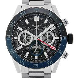 タグホイヤー カレラ 腕時計(メンズ) 【60回払いまで無金利】タグホイヤー カレラ キャリバーホイヤー02 GMT CBG2A1Z.BA0658 メンズ(0064THAN0411)【新品】【腕時計】【送料無料】