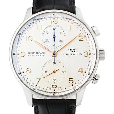 【48回払いまで無金利】IWC ポルトギーゼ クロノグラフ IW371445 メンズ(0FHMIWAN0055)【新品】【腕時計】【送料無料】