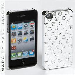 マークバイマークジェイコブス スマホケース 【正規品取扱店】 マーク バイ マーク ジェイコブス iPhone4・4Sケース MARC BY MARC JACOBS 'Metallic Stardust' iPhone 4 Case カラー:シルバー