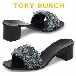 トリーバーチ トリーバーチ サンダル ヒール 黒 靴 レディース 楽天 履き心地 サイズ TORY BURCH