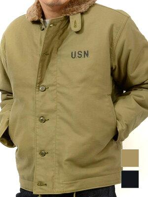 HOUSTON ヒューストン ジャケット デッキジャケット N-1 メンズ レディース ユニセックス 冬 大きいサイズ 日本製 ブランド アウター ミリタリー 海軍 ジャンパー 5N-1 母の日 プレゼント ギフト ラッピング