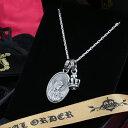 マドンナ ロイヤルオーダー【公式】【ペンダント】【ストアスペシャルセット】MADONNA &TINY CROWN W/1 YELLOW DIAMOND 【ROYAL ORDER】