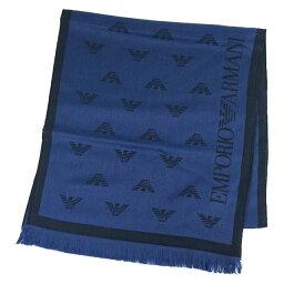 アルマーニ エンポリオ アルマーニ EMPORIO ARMANI E.アルマーニ マフラー ストール INDACO BLUE インディゴブルー 625018 6A323 00133